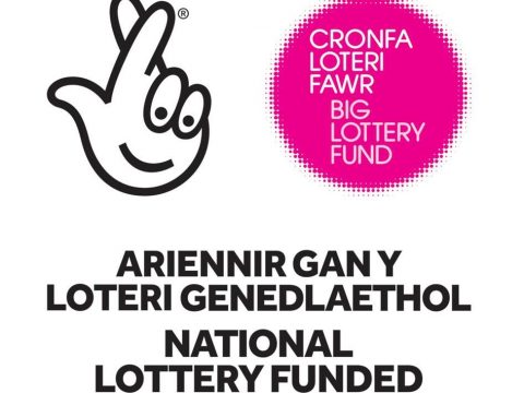 """National Lottery Funded"" icon"