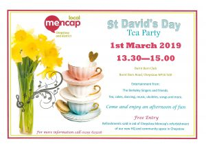 St David's Day Tea Party @ Burnt Barn Club,