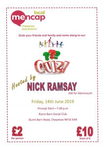 FUNDRAISER - QUIZ NIGHT @ Burnt Barn Social Club